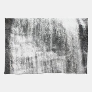 Persecución de las cascadas toallas