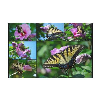 Persecución de mariposas impresiones en lona