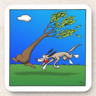 Persecución del árbol posavaso