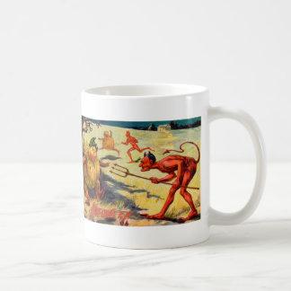 Perseguido por los diablos taza de café