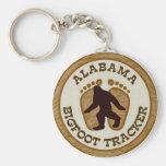 Perseguidor de Alabama Bigfoot Llaveros Personalizados