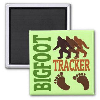 Perseguidor de Bigfoot Imán Cuadrado