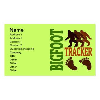 Perseguidor de Bigfoot Tarjetas De Visita