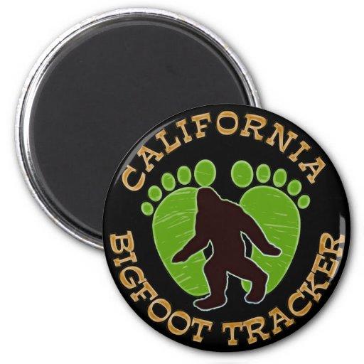 Perseguidor de California Bigfoot Imán Para Frigorífico