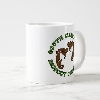 Perseguidor de Carolina del Sur Bigfoot Tazas Jumbo