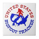 Perseguidor de Estados Unidos Bigfoot Azulejos Ceramicos