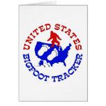 Perseguidor de Estados Unidos Bigfoot Tarjeta