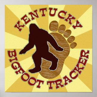 Perseguidor de Kentucky Bigfoot Posters