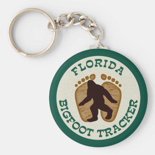 Perseguidor de la Florida Bigfoot Llavero Personalizado