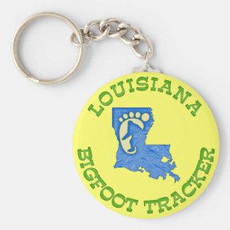 Perseguidor de Luisiana Bigfoot Llaveros