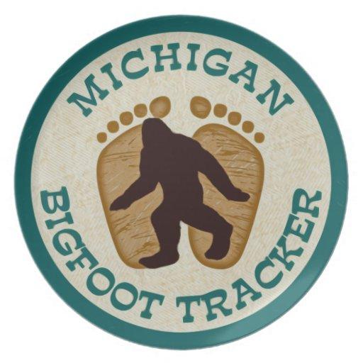 Perseguidor de Michigan Bigfoot Platos
