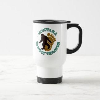 Perseguidor de Montana Bigfoot Tazas De Café