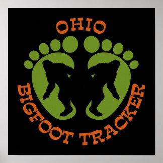 Perseguidor de Ohio Bigfoot Impresiones