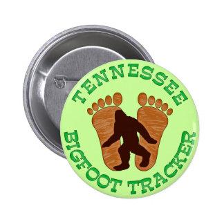 Perseguidor de Tennessee Bigfoot Pin Redondo De 2 Pulgadas