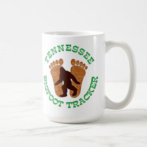 Perseguidor de Tennessee Bigfoot Tazas De Café