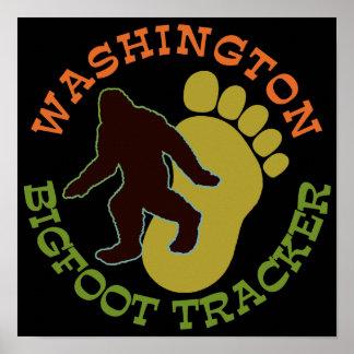 Perseguidor de Washington Bigfoot Impresiones