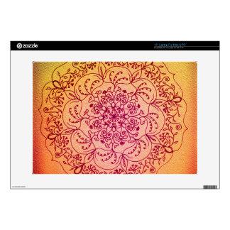 Perseid Mandala Laptop Skin