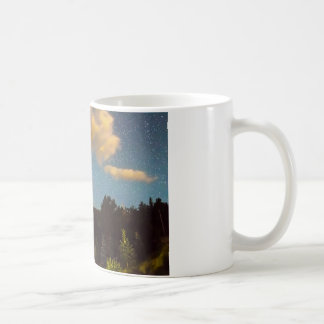 Perseid Meteor Shower and Chapel On The Coffee Mug