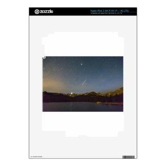 Perseid Meteor Shower Indian Peaks Decals For iPad 3