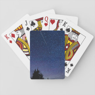 Perseid Meteor Shower Playing Cards
