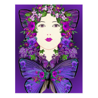 Persephone and Butterfly Postcard
