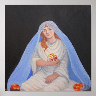 Persephone - día de los muertos póster