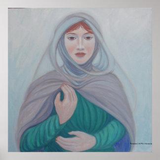 Persephone en la niebla póster