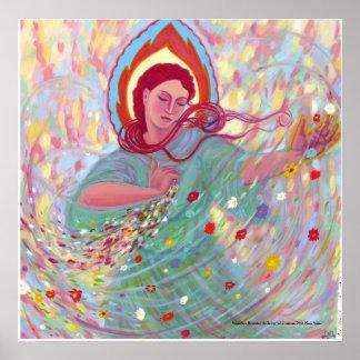 Persephone Engenders the Spring Print