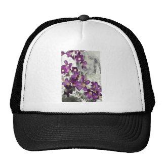 Persephone floral gorras de camionero