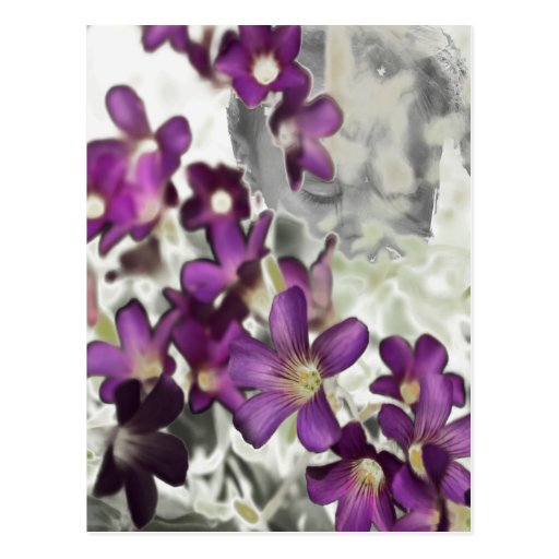 Persephone Floral Postcard