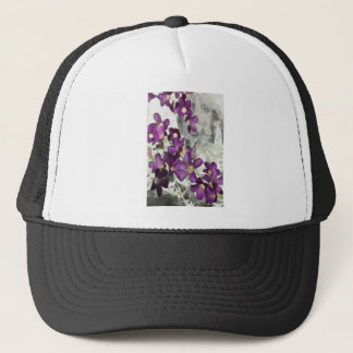 Persephone Floral Trucker Hat