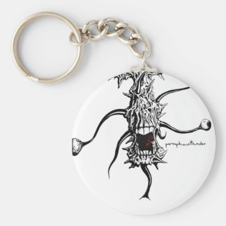persephone&hades 'eye monster' keychain