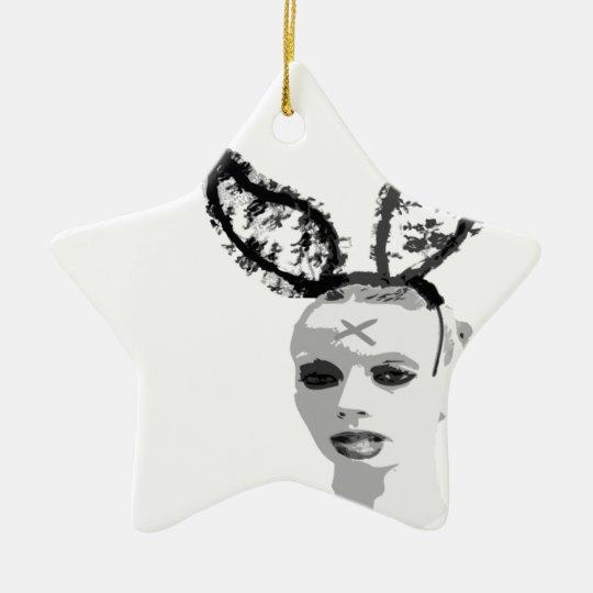 persephone&hades rabbithead ornament