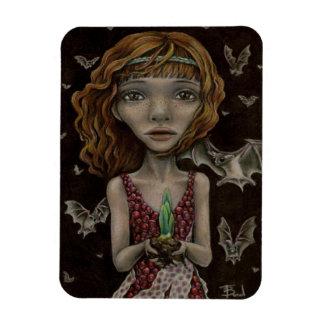 Persephone - la reina del mundo terrenal imán rectangular