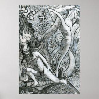 Persephone que deja Hades Póster