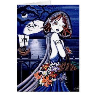 Persephone River Styx Fairy Card