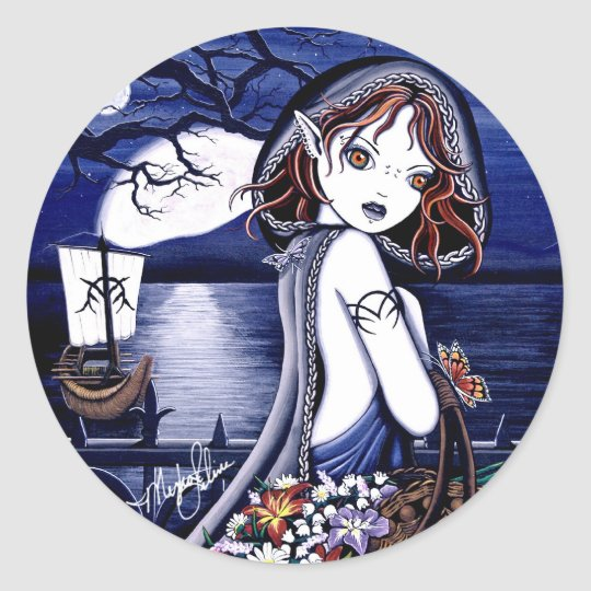 Persephone River Styx Fairy Stickers