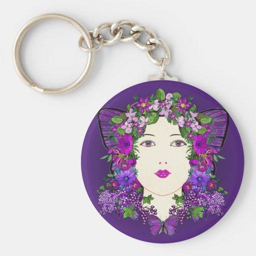 Persephone Vixen Keychain