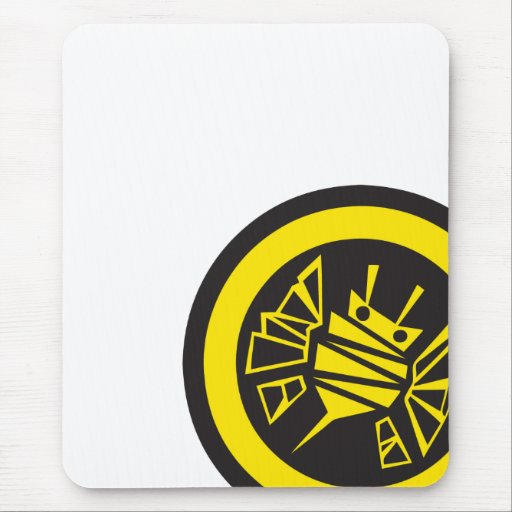 persephones bee-button mouse pad
