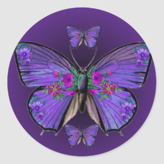 Persephone's Butterfly Sticker