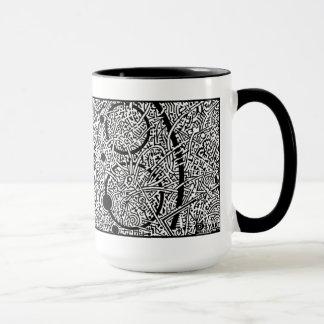 'Perseus Amongst the Spheres' (crop section) NEG Mug