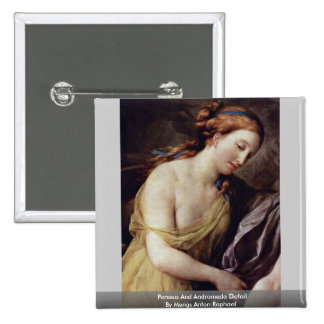Perseus And Andromeda Detail Pinback Buttons