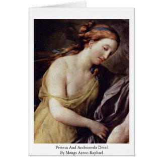 Perseus And Andromeda Detail Greeting Card