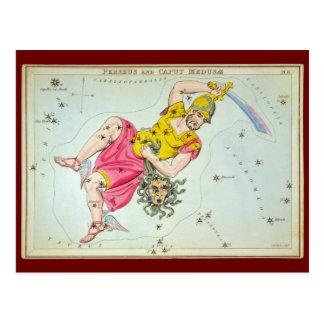 Perseus and Caput Medusæ Postcard