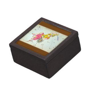 Perseus and Caput Medusæ Premium Keepsake Box