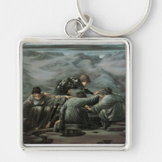 Perseus and the Graine, 1892 Keychain