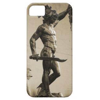 Perseus con el jefe de la medusa iPhone 5 Case-Mate cárcasa
