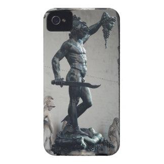 Perseus con el jefe de la medusa iPhone 4 funda