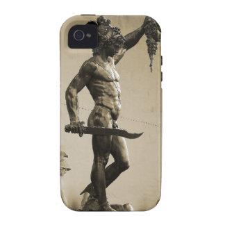 Perseus con el jefe de la medusa iPhone 4/4S funda