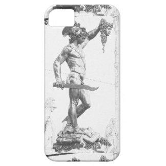 Perseus con el jefe de la medusa iPhone 5 Case-Mate carcasas